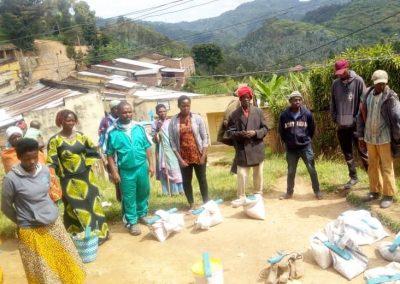 Verteilung Nahrungsmittel Murunda