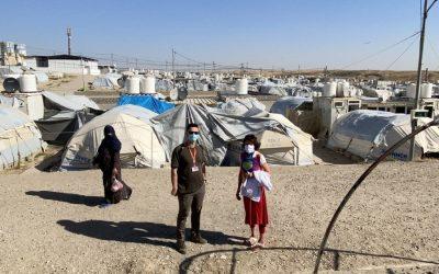 Einsatz im Irak / Erbil in 2020