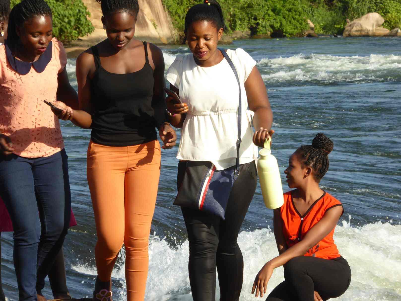 mit unseren Schwestern am Nil