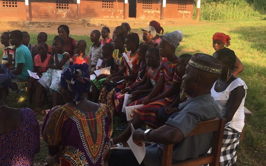 Einsatz Sierra Leone im November 2019