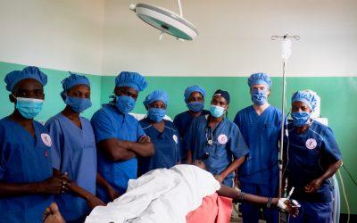 Einsatz in Mwanza in Tanzania im Januar bis Mai 2021
